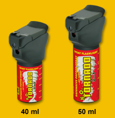 Spray Flashlight K.O. TORNADO 40 ml / 50 ml